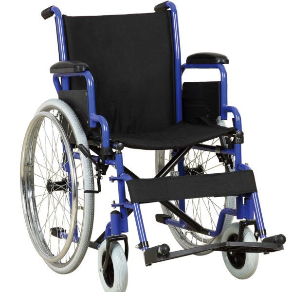 Silla Rueda color azul metalica